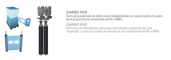 Enfardadora de palets Robot S6 PVS 2.400 mm