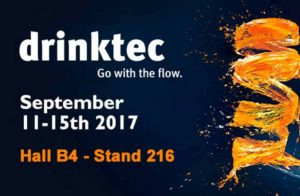 Estaremos en Drinktec 2017