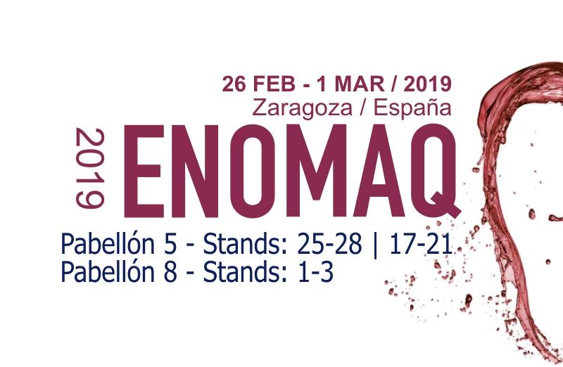 Feria ENOMAQ 2019: Zaragoza