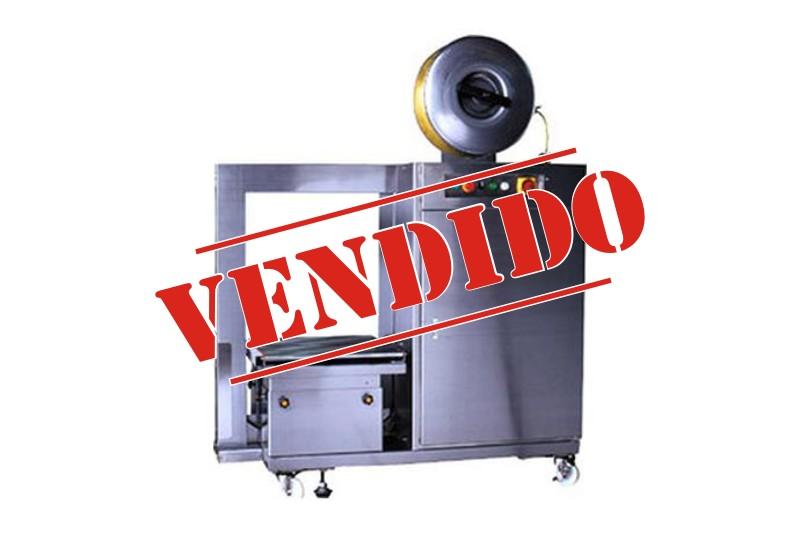 Flejadora automática modelo DBA-11M inox (seminueva)