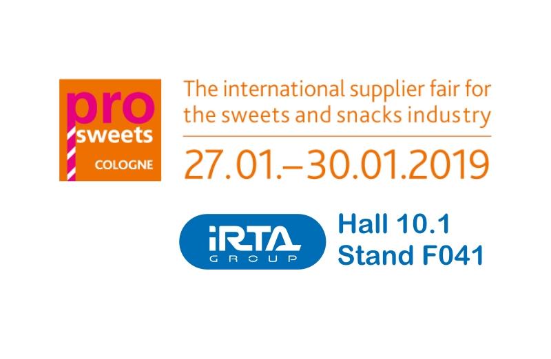 Feria Prosweets 2018 Colonia: Visítanos en el Hall 10.1 stand F041