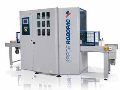 Envolvedora ROBOPAC Spiror 400 HP DR doble bobina.