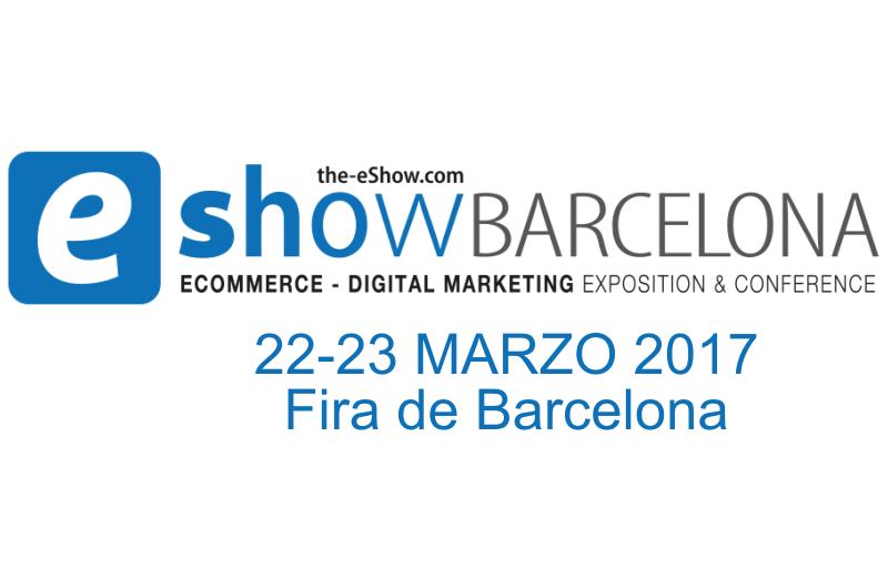 Os esperamos en eShow Barcelona 2017