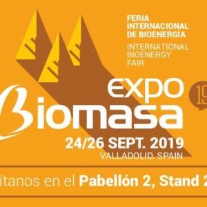 EXPOBIOMASA en Valladolid – Septiembre 2019