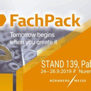 Feria FachPack en Núremberg – Septiembre 2019