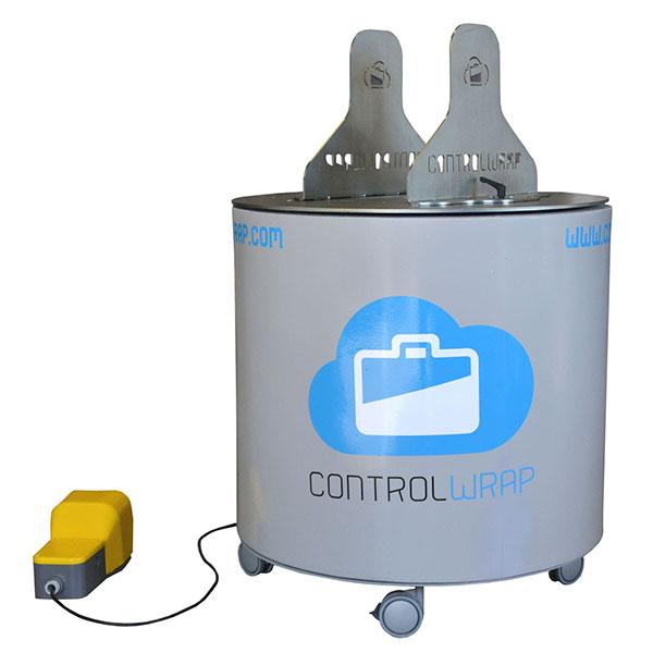 envolvedora semiautomática controlwrap