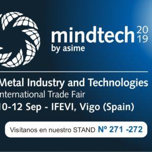 Feria MINDTECH en Vigo – Septiembre 2019