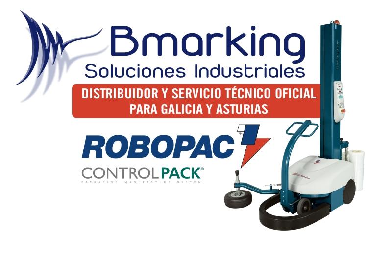 Servicio Técnico y distribuidor oficial ROBOPAC para Galicia y Asturias