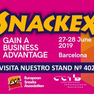 Feria SNACKEX 2019 en Barcelona