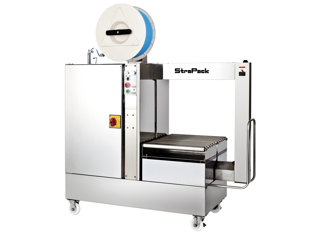 Flejadora automática Strapack RQ-7000MAP Inox